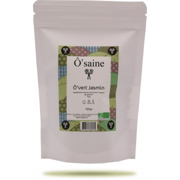 Ô'vert jasmin sachet 100gr